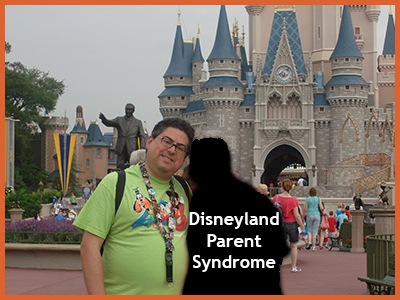 The Disneyland Parent Syndrome Defined by Fred Campos, @FullCustodyDad http://DaddyGotCustody.com blogger