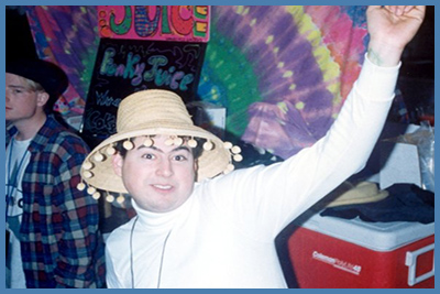 Fred Dancing at a Rave in 1994