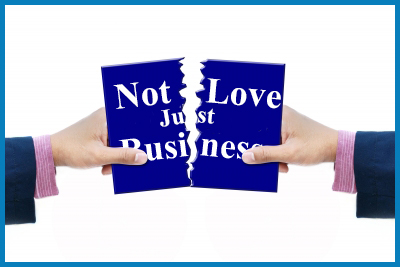 No Longer Love, Now It's Business by Fred Campos http://DaddyGotCustody.com