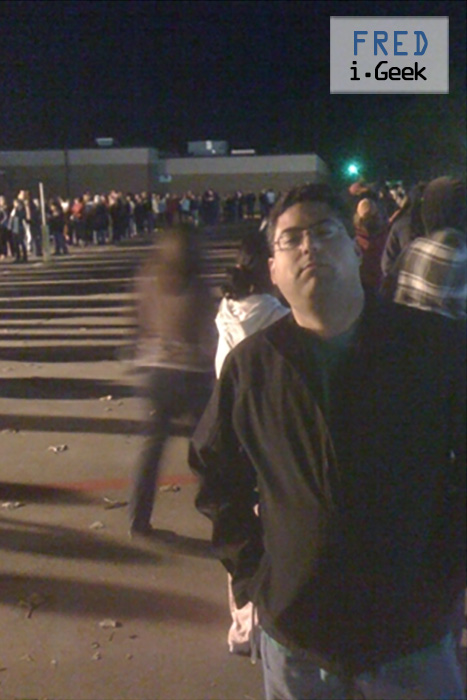 Wait in Line for Black Friday Shopping