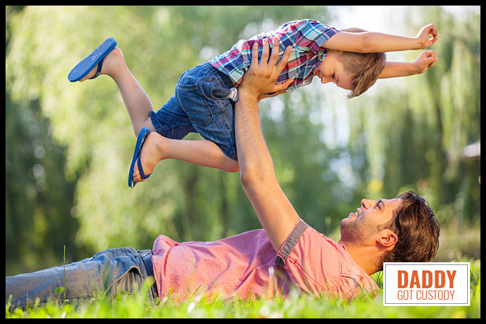Single Fathers on the Rise by DaddyGotCustody.com