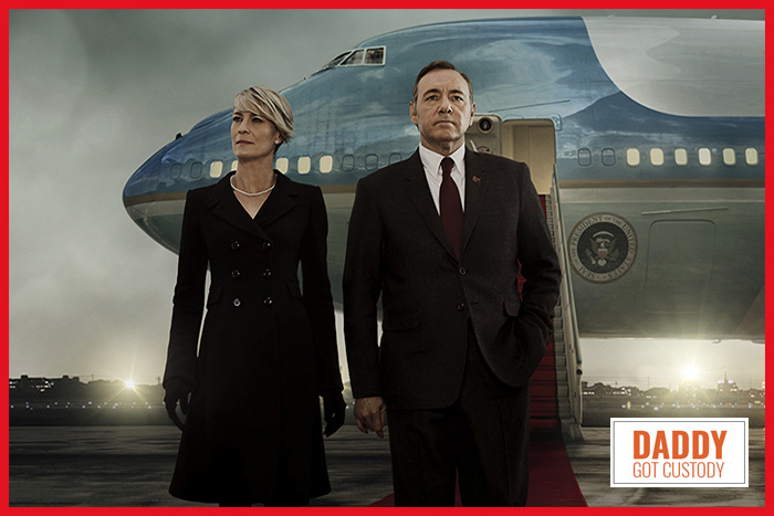 House of Cards Season 3 Clarie and Frank Underwood