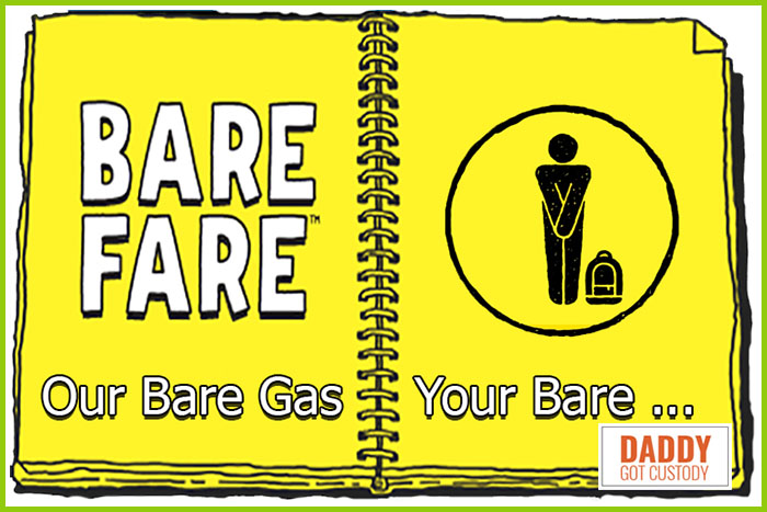 How to Fly on Bare Gas without Losing Your Spirit Fare http://DaddyGotCustody.com