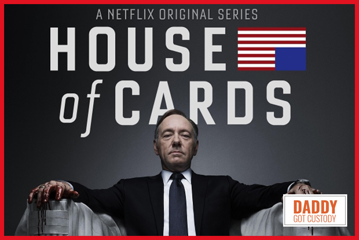 My Geeky Valentines Idea House of Cards Marathon