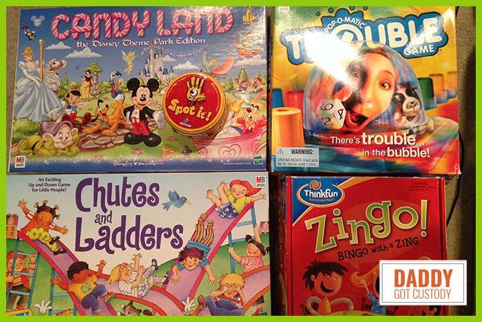 5 Great Kindergarten Games to Play http://DaddyGotCustody.com