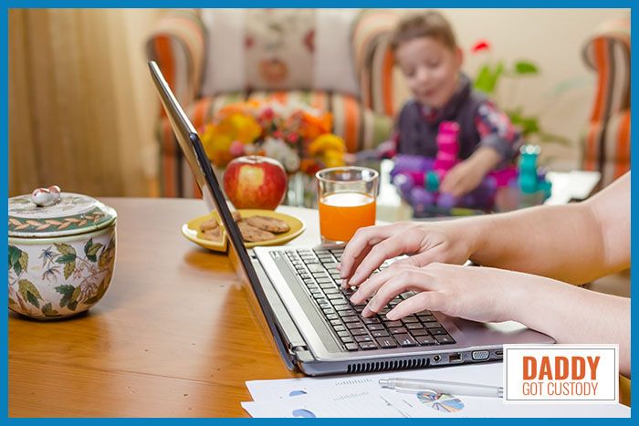 Is Working at Home Right for You? http://DaddyGotCustody.com