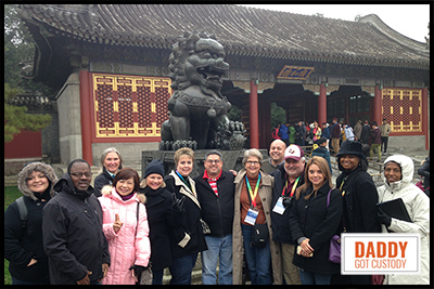 Beijing and Forbidden City, 2015 China Delegates http://DaddyGotCustody.com