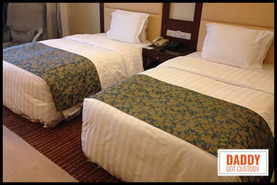 Chinese Hotel Beds