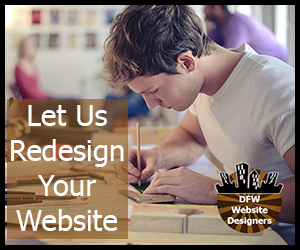 Click for DFW Website Designers - Redesign Package