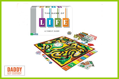 The Game of Life by Fred Campos http://DaddyGotCustody.com