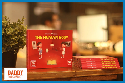 The Human Body by Imagina Books http://DaddyGotCustody.com