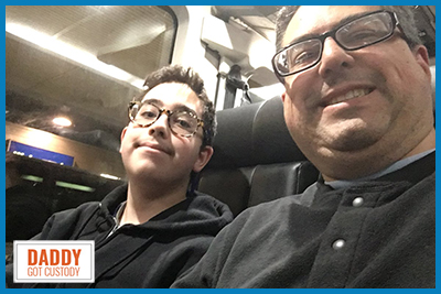 First Father/Son Trip on a Greyhound Bus https://DaddyGotCustody.com