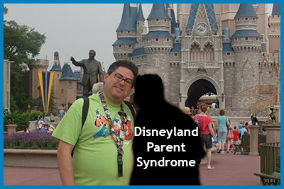 Disneyland Parent Syndrome Defined by Fred Campos http://DaddyGotCustody.com
