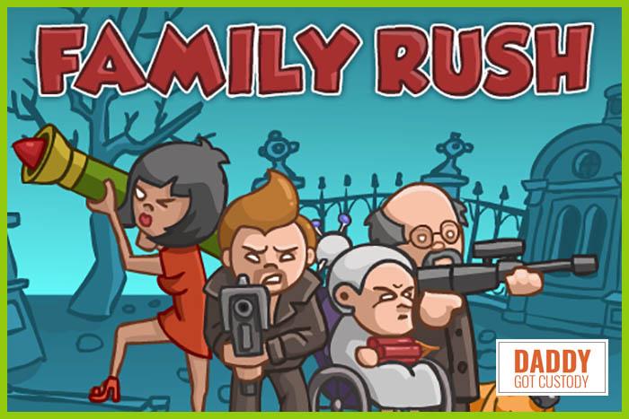 #3 Papa Louie Arcade Game Family Rush