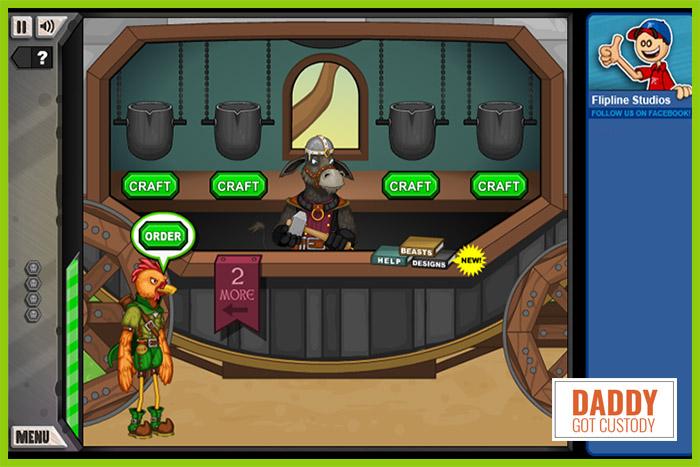 #5 Papa Louie Arcade Game Jacksmith