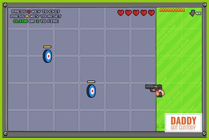 #4 Papa Louie Arcade Game The Gun Game Redux