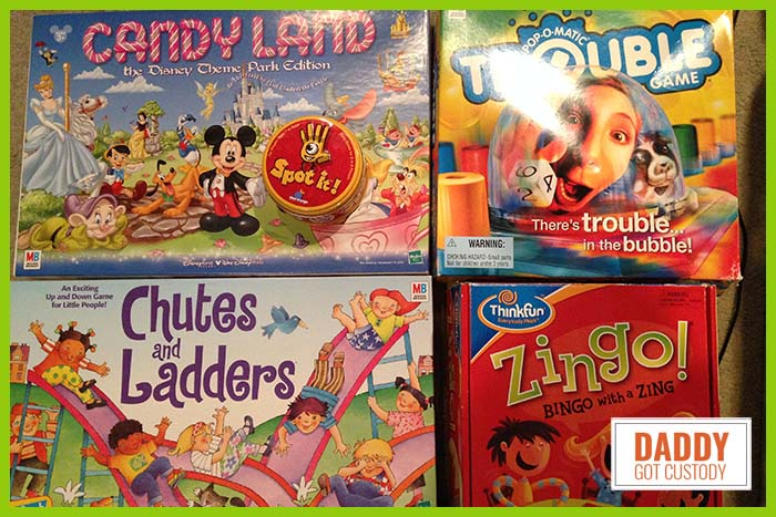 5 Great Kindergarten Games to Play http://DaddyGotCustody.com