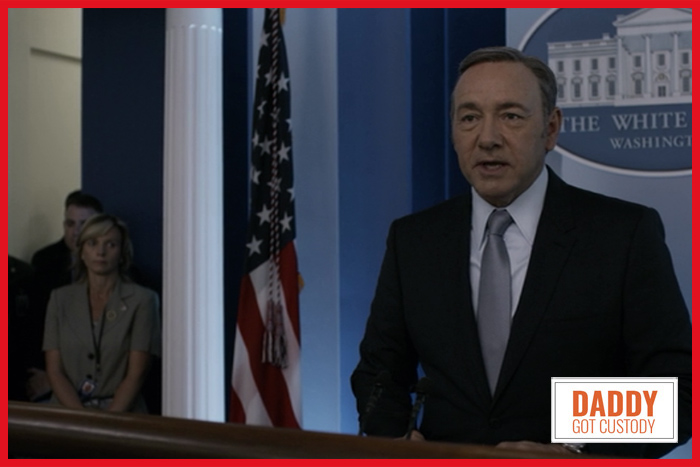 House of Cards Season 3, Chapter 31 - Frank Declares War