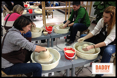 China Trip Pottery Making http://DaddyGotCustody.com