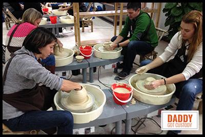 China Trip Pottery Making http://DaddyGotCustody.com