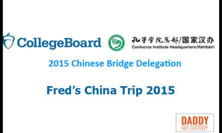My School Board Trip to China – Day 1