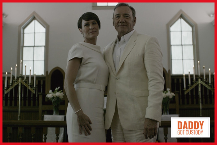House of Cards Chapter 33 Underwood Marriage