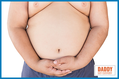 Obesity Now a Factor in Child Custody by http://DaddyGotCustody.com