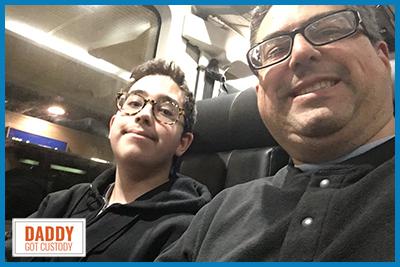 First Father/Son Trip on a Greyhound Bus https://DaddyGotCustody.com