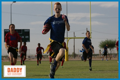 Your Child's Sports Hobby by Fred Campos, https://DaddyGotCustody.com